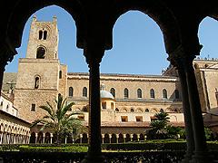 Monreale - katedrála a benediktinský klášter