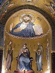 Palermo - Palatinská kaple uvnitř Normanského paláce