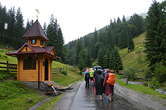 Siněvir - cesta kjezeru