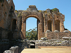 Taormina - velké divadlo