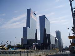 Moderní zástavba Rotterdamu