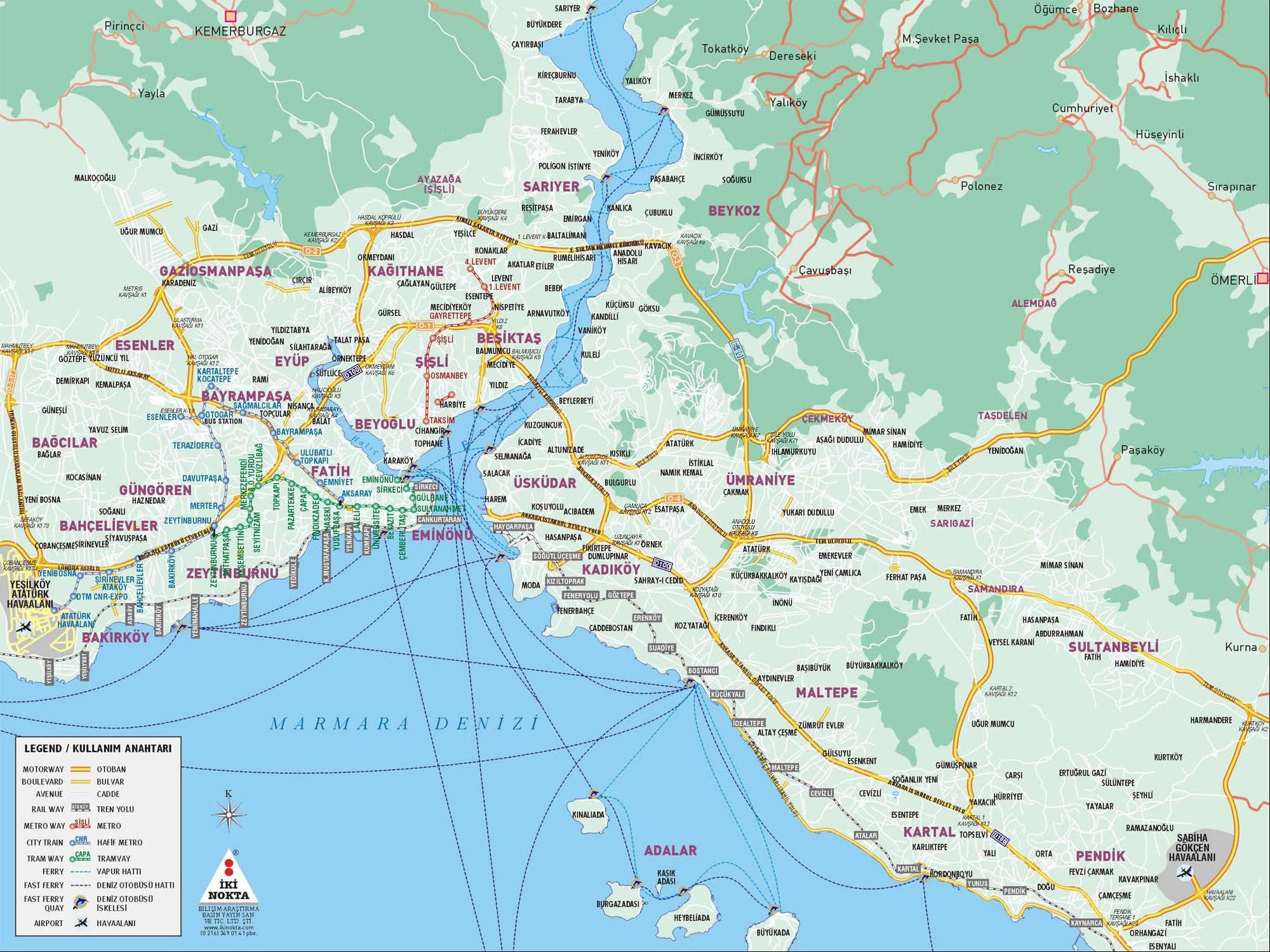 istanbul mapa Istanbul: mapa Istanbulu | CK Mundo istanbul mapa