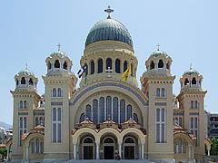 Patra, kostel Agios Andreas