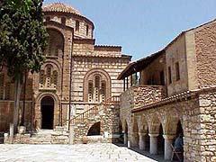Dafni, klášter