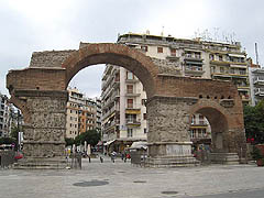 Soluň, Galeriův oblouk