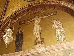 Osios Loukas, mozaiky