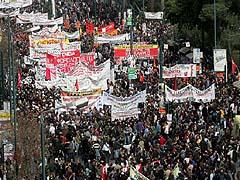 Stávkující mládež