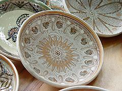 Tradiční keramika zobce Horezu ve Valašsku