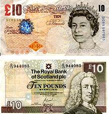 Britská a skotská libra