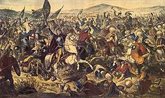 Bitva na Kosově poli od Adam Stefanoviće