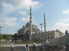 Nová mešita v Istanbulu