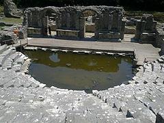 Butrint – torzo amfiteátru