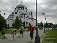 Bělehrad – největší pravoslavný chrám na světě, chrám sv. Sávy, čeká na své dokončení