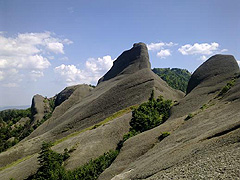 Slepencové skalní útvary, cíl našeho treku