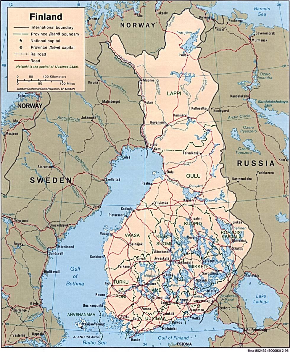 Suomi Maps