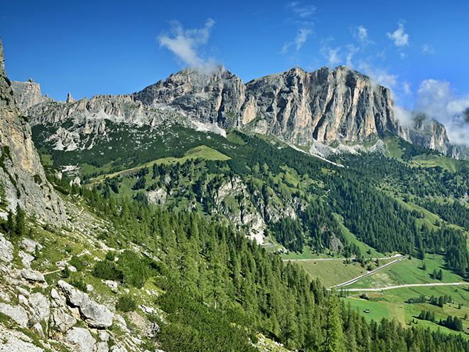 Talianske Dolomity Zajazd Na Ferraty Alebo Turistika Ck Mundo