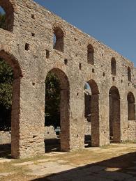 Křesťanská bazilika vButrintu