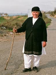 Typické oblečení střední Albánie