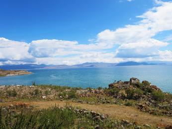 Největší arménské jezero Sevan