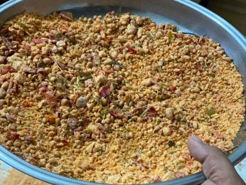Tarhana je sušený pokrm zbulguru, vajec, macunu a škrobu