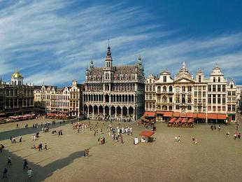Náměstí Grand-Place tvoří srdce Bruselu
