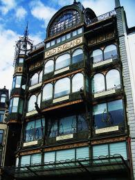 Dům Old England secesního architekta Victora Horty