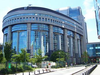 Brusel je sídlem institucí EU - např. Evropského parlamentu