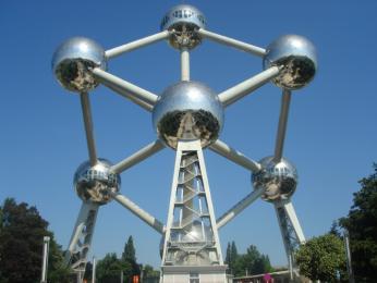 Atomium - symbol Bruselu