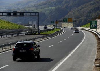 Krátký úsek nové dálnice A1