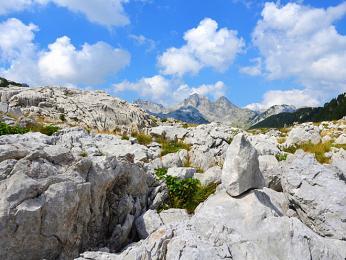 Vápencové pohoří Prenj