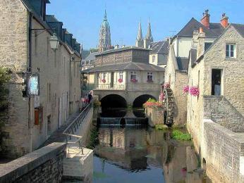 Půvabná zákoutí města Bayeux