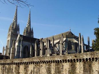 Středověká katedrála vQuimper
