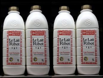 Bretaňskou obdobou podmáslí je na proteiny a probiotika bohatý lait ribot