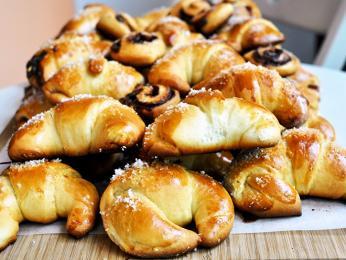 Kifličky mají slané i sladké varianty