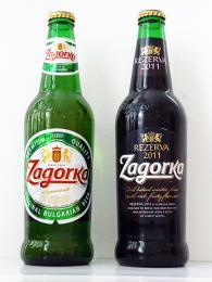 Jednou z oblíbených značek bulharského piva je Zagorka