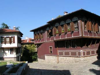 Rázovitý domek v Plovdivu
