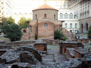 Kostelík svatého Jiří v Sofii pochází už zřímského období