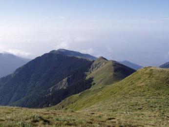 Hřeben pohoří Stara Planina