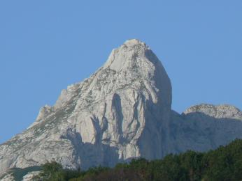Bobotov kuk, nejvyšší hora pohoří Durmitor
