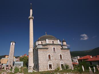 Mešita z doby vlády Turků v Černé Hoře