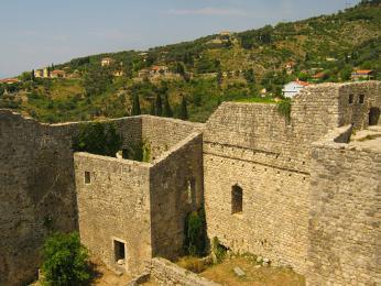 Zříceniny pevnosti Stari Bar