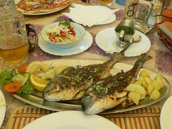 V přímořských oblastech Černé Hory se jedí hodně ryby