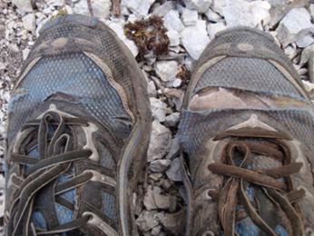 Takhle dopadly moje boty...