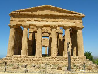 Chrám svornosti je jedním ze tří nejzachovalejších řeckých chrámů na světě