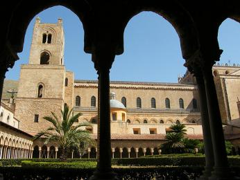 Katedrála a benediktinský klášter vMonreale