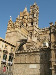 Palermo - katedrála zkonce 12. století snormanskými prvky