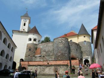 Hrad Palaňok v Mukačevu