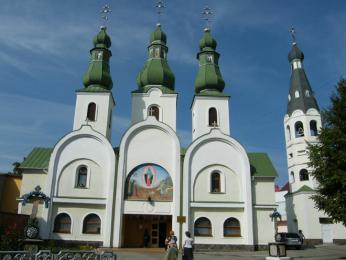 Pravoslavný chrám Panny Marie vMukačevu