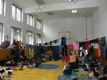 Tělocvična koločavské školy