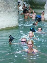 Hodně zábavná túra v kaňonu Köprülü :-)